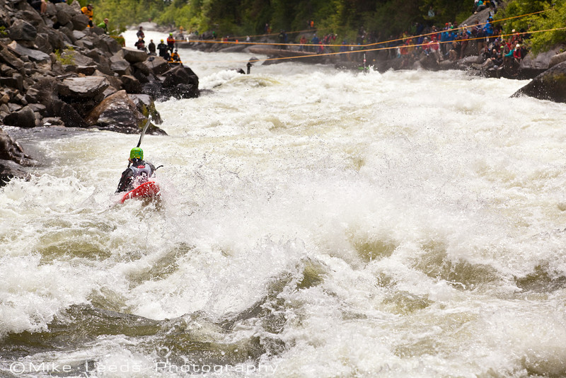 Mikkel St. Jean Duncan on his way to 3rd place in the North Fork Championship 2012