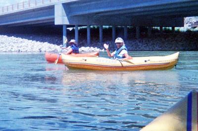 Kayaking Rio Grande, 08/06/10