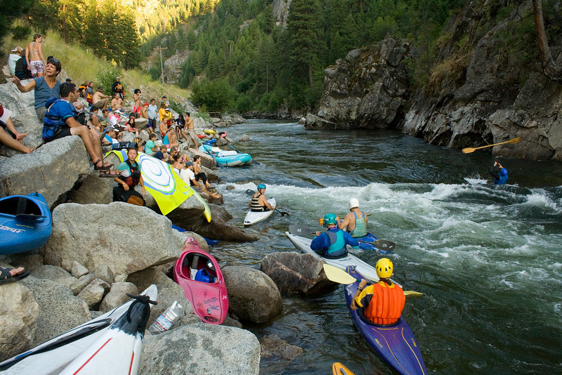 80's Rodeo on the S.F. Payette River, Idaho.