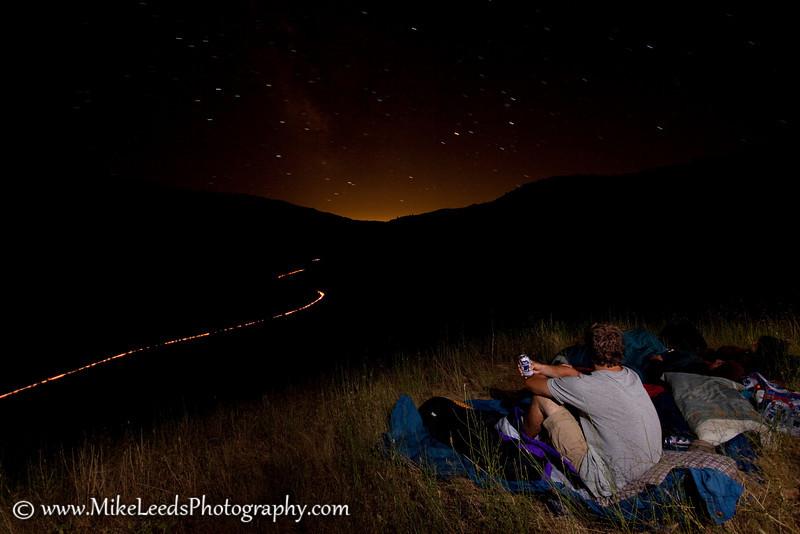 """Stargazer"" camp on the Main Payette River, Idaho."