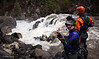 Tyler Allyn and Brian Ward scouting the Intimidator on the Little Salmon River in Idaho