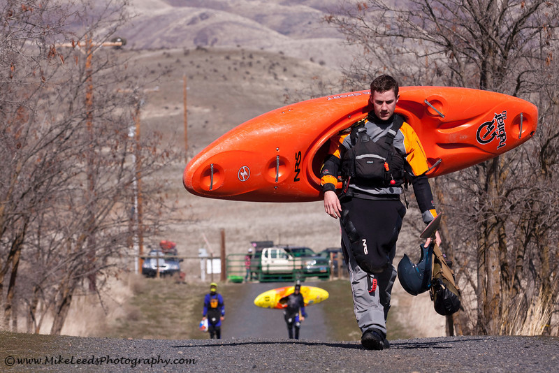 On the way to go paddling in Oregon with Dan Simenc