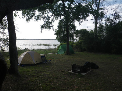 Lake Texana Camping 4-2013