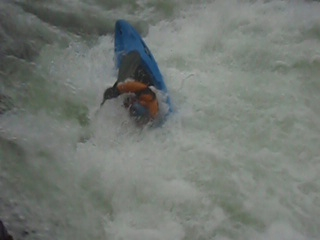 Phil taking a beating on the NFMF Willamette