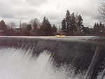 Phil doing the spillway at the beginning of the Riverhouse run on the Deschutes.