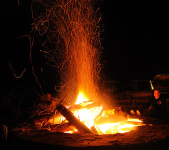 The fire and JohnBell