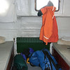 6/8 - sleeping area in back of boat
