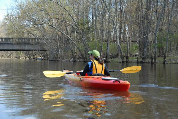 2009-04-25 Kayaking Passaic with Whippany Watershed Coalition