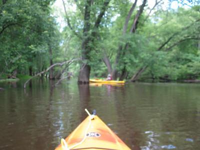 2009-06-23 Kayaking Passaic River, Valley Rd to Chatham