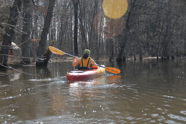 2010-03-20 Passaic River – In/Out from the Essex County Environmental Center