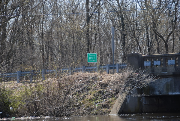 2010-04-04 – Passaic to Rockaway to Whippany Rivers past Sharkeys Dump – Solo In/Out from Pio Costa on Bloomfield Ave.