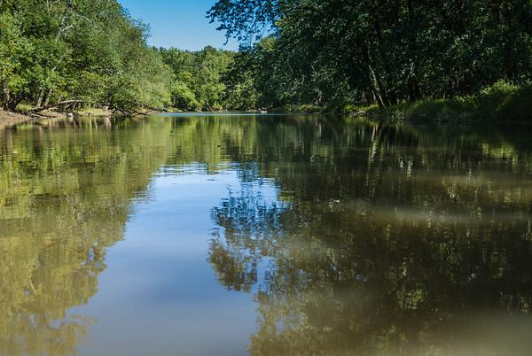 2012-09-23 Passaic River at Eagle Rock Ave.