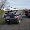 Kayaks arrive