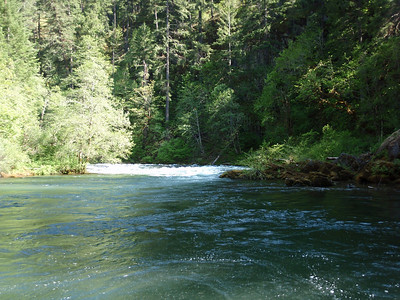 Rafting/kayaking/camping on the Umpqua 5/09
