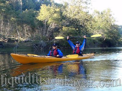 Wilderness Systems Northstar - a tandem sea kayak.