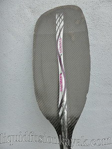 Lendal 4 piece carbon fiber paddle 210cm 60'feather and 200cm 45' feather $150 each