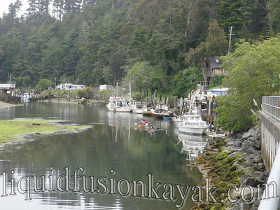 Noyo Harbor Fishing Boats