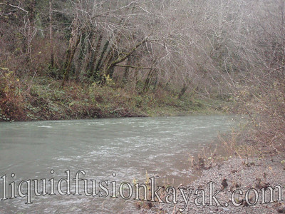Going with the flow . . . 475 cfs + ebbing tide=downhill boating.