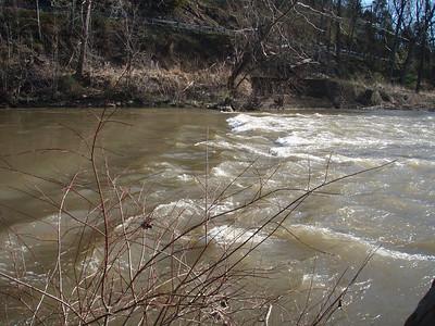 Shermans Creek - Delville Dam