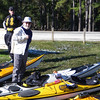 Some of the intrepid crew