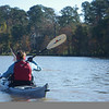 I caught the pelican taking off as Shelby cruised by.