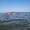 Sat./ Many many miles of open water.