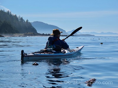 Calm Seas off North Vancouver Island