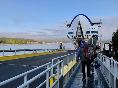 Boarding the Ferry