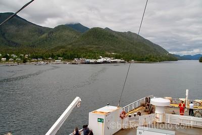 Approaching Klemtu