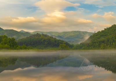 Sunrise Little Tennessee River