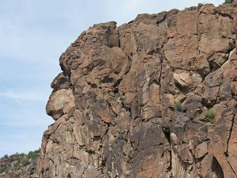 Rock Face at Cochiti Canyon