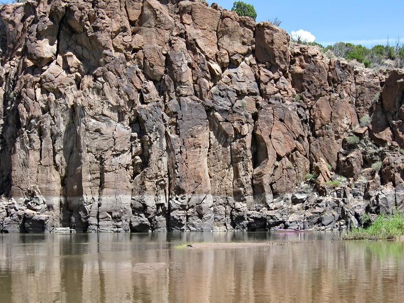 Rock Walls near Cochiti Canyon