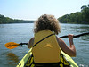 Kayaking on the Susquehanna River on a beautiful September afternoon.