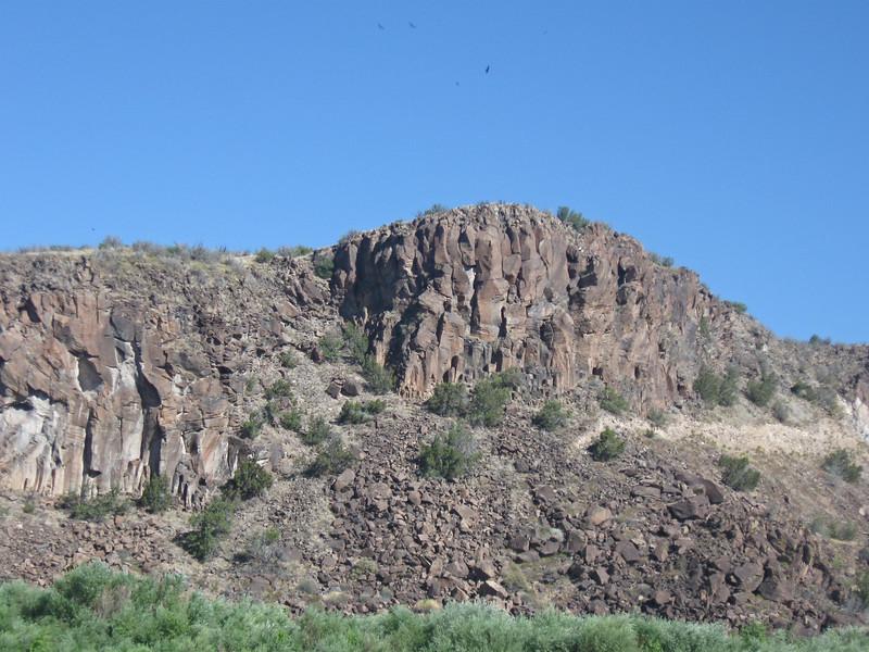 Rock Wall near Medio Canyon