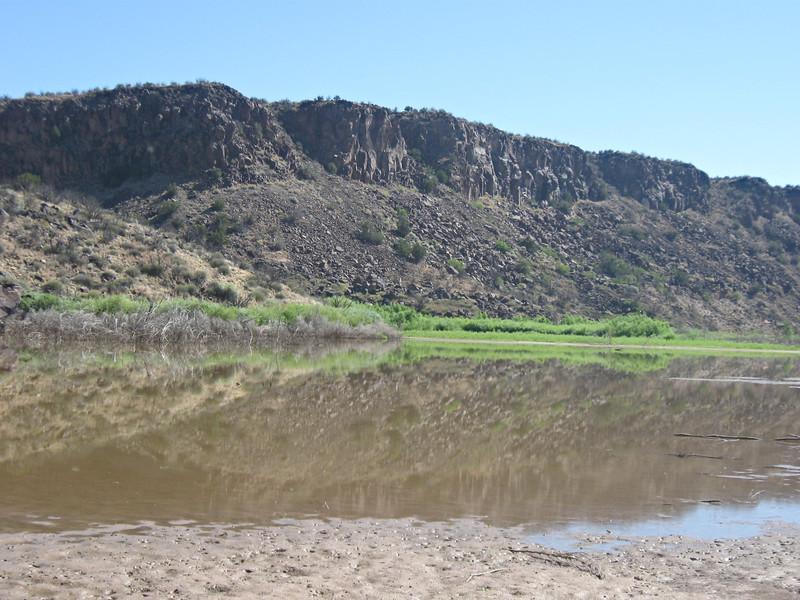 River near Medio Canyon