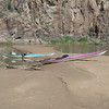 Our Kayaks at Cochiti Canyon