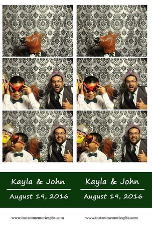 Kayla & John August 19, 2016