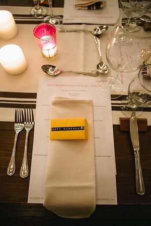 Room 40 Dinner