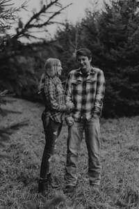Kaylin and Evan-BW-10