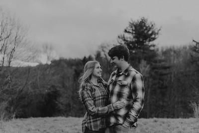 Kaylin and Evan-BW-17
