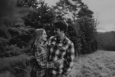 Kaylin and Evan-BW-18