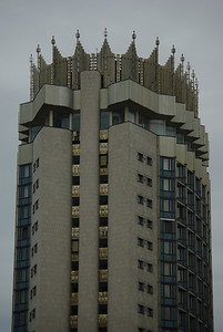 Spacer po Almatach - Hotel Kazakhstan
