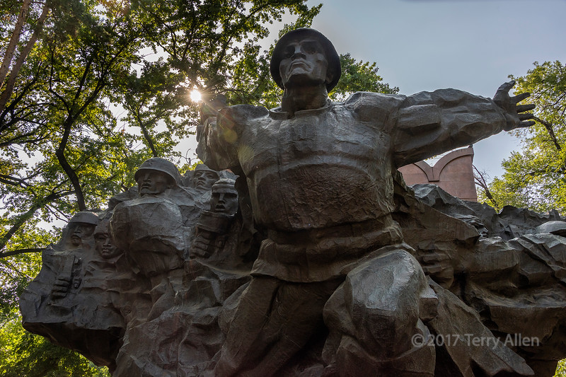 World War II memorial, 1975, Panfilov Park, Almaty, Kazakhstan