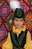 Portrait of a Kazakh girl