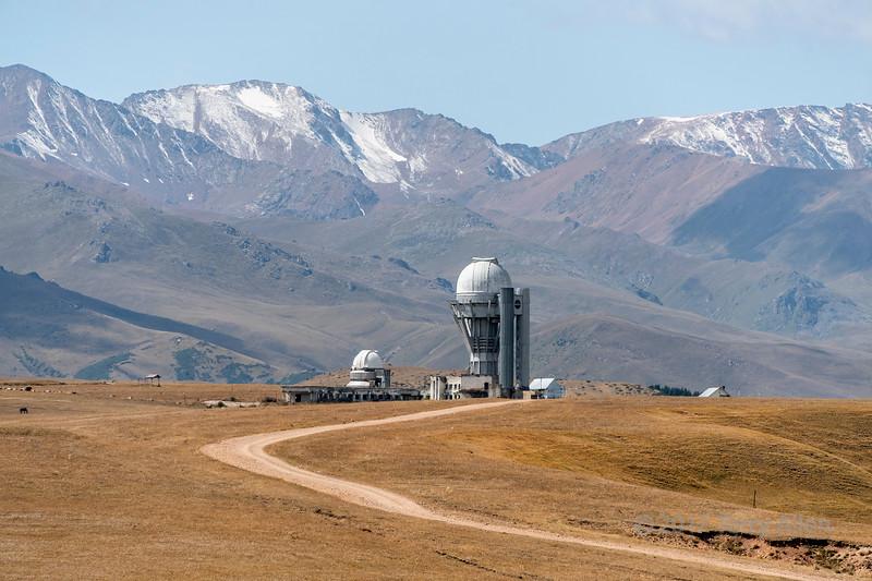 The road to Assy Turgen Observatory (2750 M) , Assy Plateau, Kazakhstan