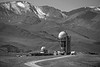 Assy Turgen Observatory, Fesenkov Astorophysical Institute (1981-1991) by the Tian Shan mountains, Assy Plateau, Kazakhstan BW