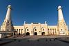 Early morning,front view Sheikh Khalifa Mosque, Shymkent, Kazakhstan