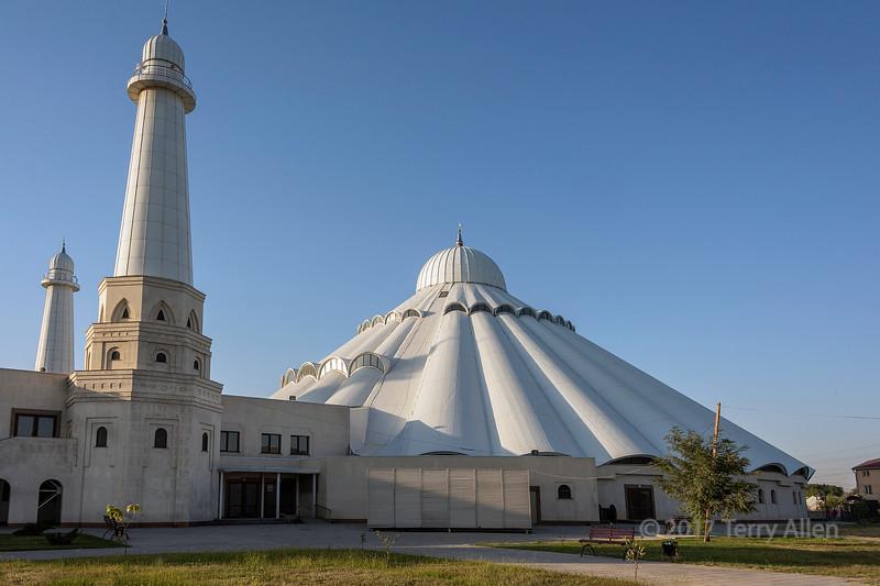 Early morning, Sheikh Khalifa Mosque, Shymkent, Kazakhstan