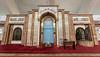 Mihrab, Sheikh Khalifa Mosque, Shymkent, Kazakhstan