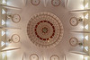 Ceiiling detail, Sheikh Khalifa Mosque, Shymkent, Kazakhstan